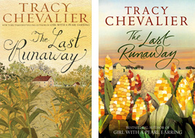 US & UK covers of The Last Runaway